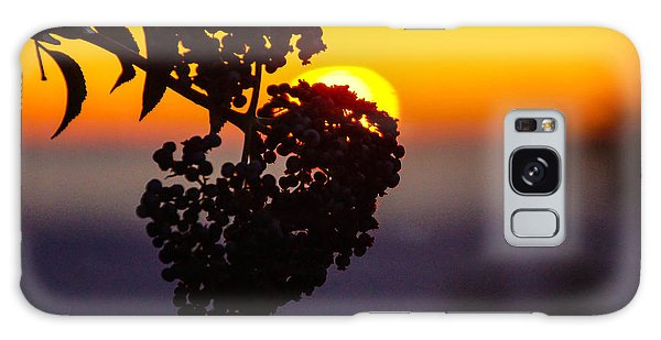 Shadow Berry Sunset Galaxy Case