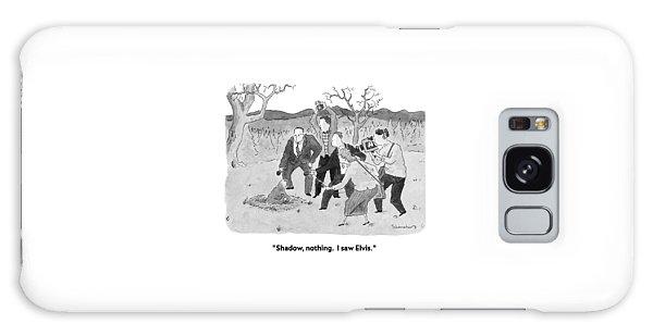 Shadow, Nothing.  I Saw Elvis Galaxy Case by Danny Shanahan