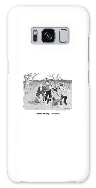 Groundhog Galaxy Case - Shadow, Nothing.  I Saw Elvis by Danny Shanahan