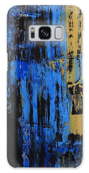 Shadow Stones Sandy Beach Galaxy Case by James Mancini Heath