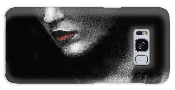 Shadowed In My Mind Galaxy Case by Pat Erickson