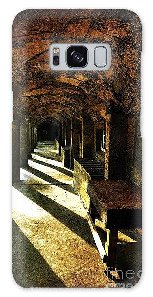 Shadows And Arches I Galaxy Case by Debra Fedchin
