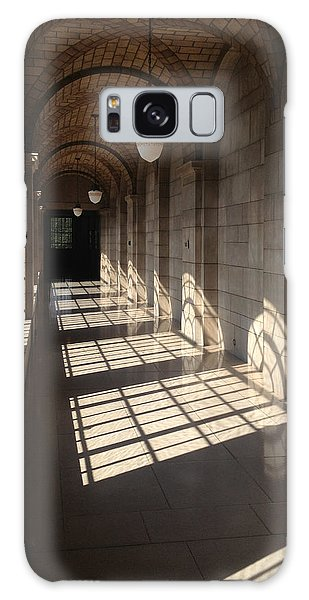 Shadows And Stone Galaxy Case by Rod Seel