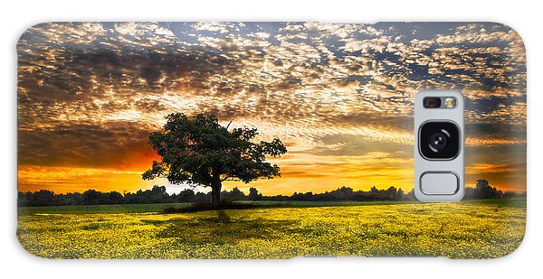 Shadows At Sunset Galaxy Case by Debra and Dave Vanderlaan