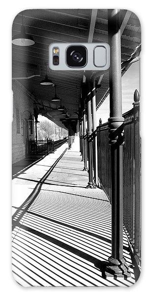 Shadows At The Station Galaxy Case
