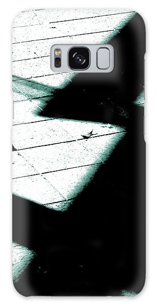 Shadows On The Floor  Galaxy Case