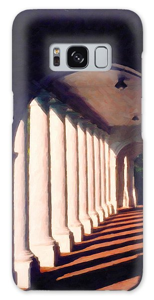 Shadows University Of Virginia Galaxy Case by Spyder Webb