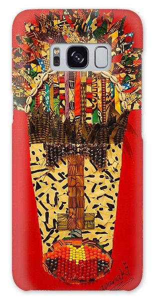 Shaka Zulu Galaxy Case by Apanaki Temitayo M