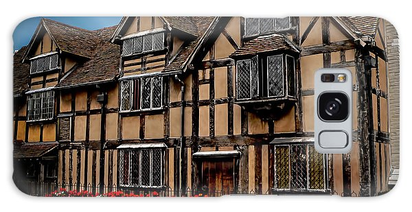 Shakespear Slept Here Galaxy Case