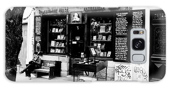 Shakespeare And Company Boookstore In Paris France Galaxy Case