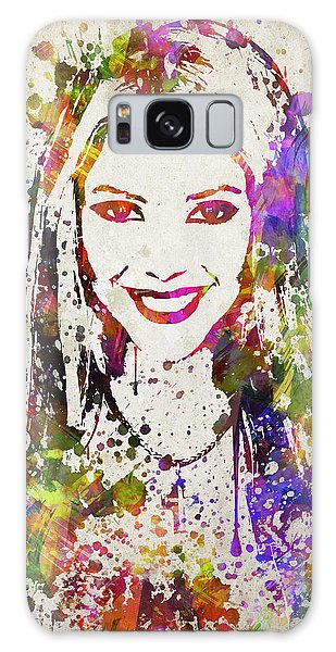 Shakira In Color Galaxy Case