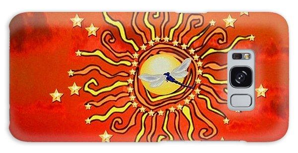 Shaman Sun Galaxy Case by Mary Anne Ritchie