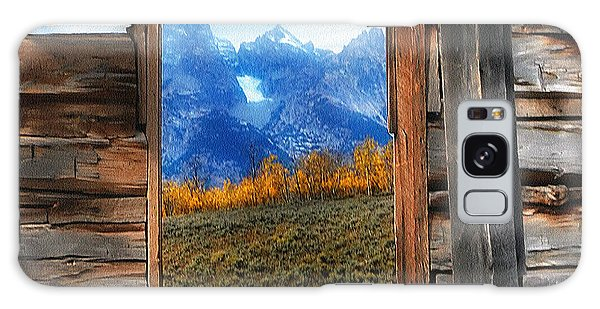 Shane Cabin Window  Galaxy Case