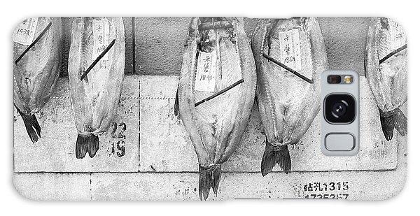 Shanghai Fish Drying Galaxy Case by Dean Harte