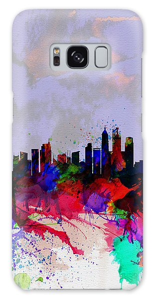 Shanghai Watercolor Skyline Galaxy Case