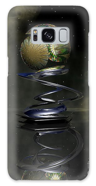 Shapero's Flower Galaxy Case by Shari Nees