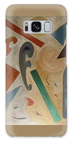 Shapes Galaxy Case by Barbara Yearty