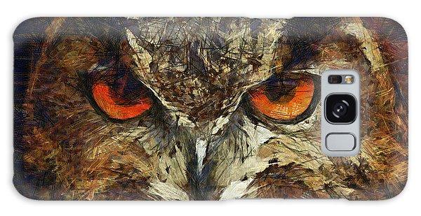 Sharpie Owl Galaxy Case