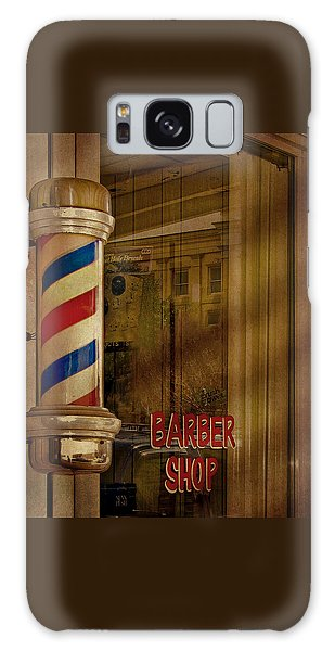 Shave And A Haircut Two Bits  Galaxy Case by David and Carol Kelly