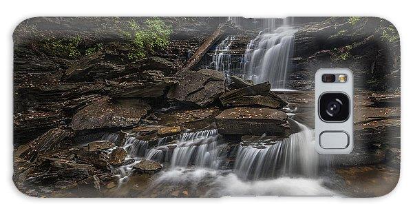 Shawnee Falls Galaxy Case by Roman Kurywczak
