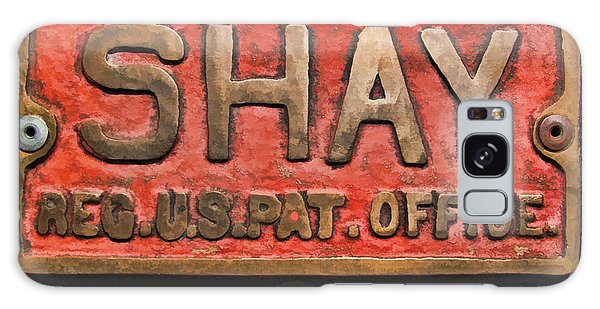 Shay Builders Plate Galaxy Case