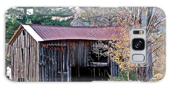 Shed In Autumn Galaxy Case by Christian Mattison