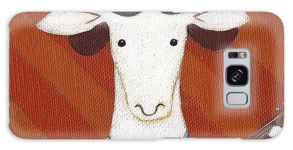 Sheep Galaxy S8 Case - Sheep Guitar by Christy Beckwith