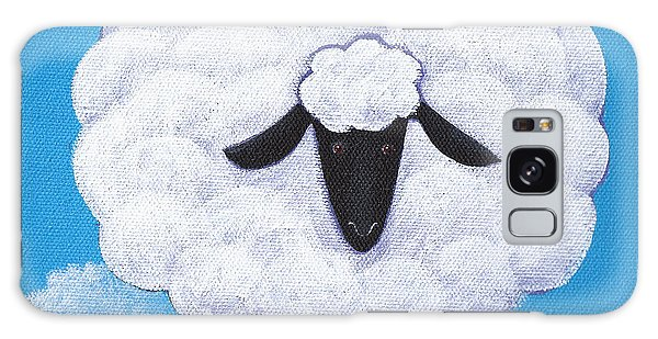 Sheep Galaxy Case - Sheep Nursery Art by Christy Beckwith
