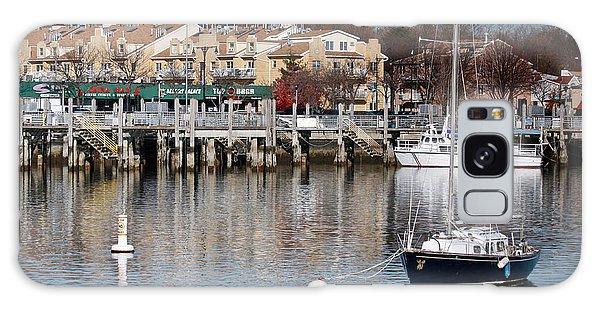Sheepshead Bay Harbor #3 Galaxy Case
