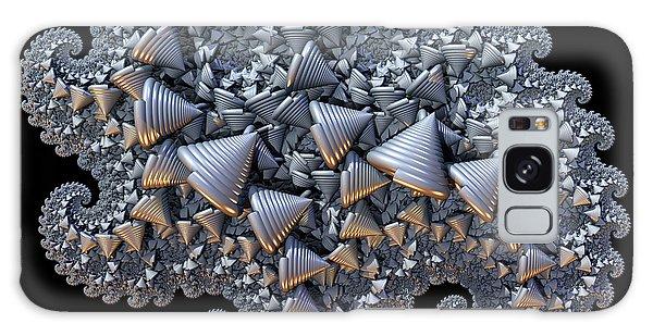 Shell Amoeba Galaxy Case by Manny Lorenzo