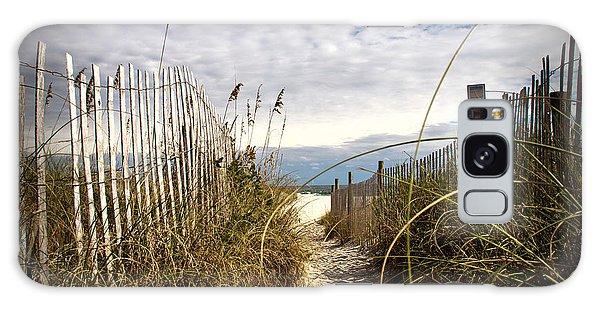 Shell Island Beach Access Galaxy Case by Phil Mancuso