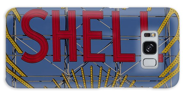 Shell Sign Cambridgeside Galaxy Case