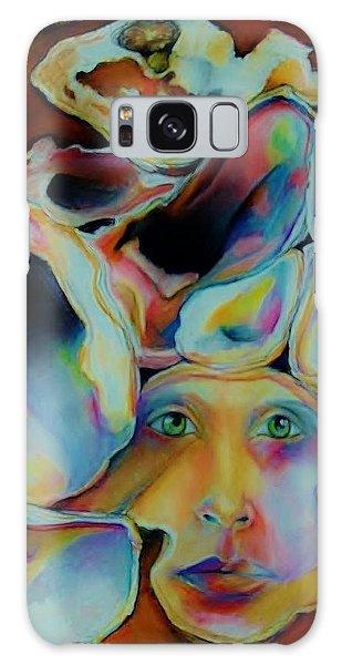 Shells Galaxy Case by Jean Cormier
