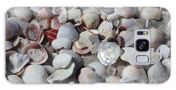 Shells On Treasure Island Galaxy Case