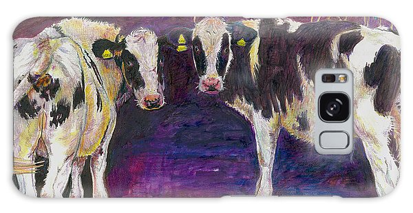 Sheltering Cows Galaxy Case