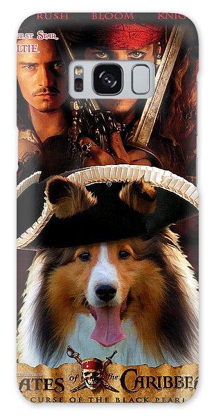 Sheltie - Shetland Sheepdog Art Canvas Print - Pirates Of The Caribbean The Curse Of The Black Pearl Galaxy Case