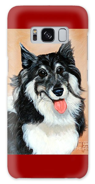 Sheltie Galaxy Case