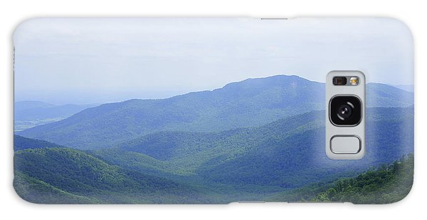 Shenandoah View Galaxy Case by Laurie Perry