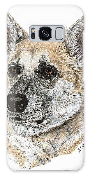 Shepherd Beauty Galaxy Case by Val Miller
