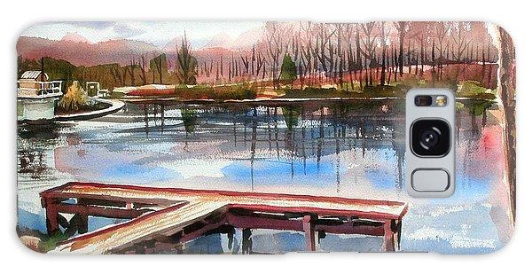 Shepherd Mountain Lake In Winter Galaxy Case by Kip DeVore