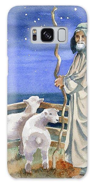 Sheep Galaxy Case - Shepherds Watched Their Flocks By Night by Marsha Elliott