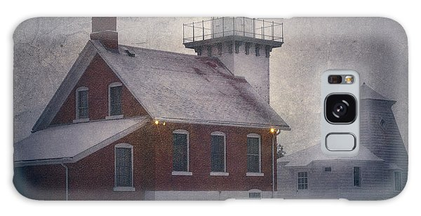 Galaxy Case featuring the photograph Sherwood Point Light by Joan Carroll