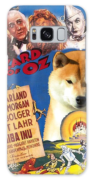 Shiba Inu Art Canvas Print - The Wizard Of Oz Movie Poster Galaxy Case