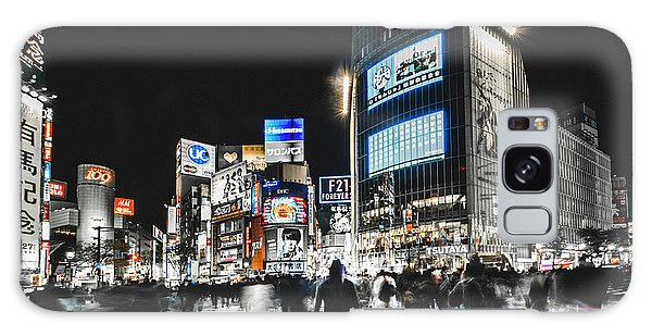 Neon Galaxy Case - Shibuya Crossing by Carmine Chiriac??