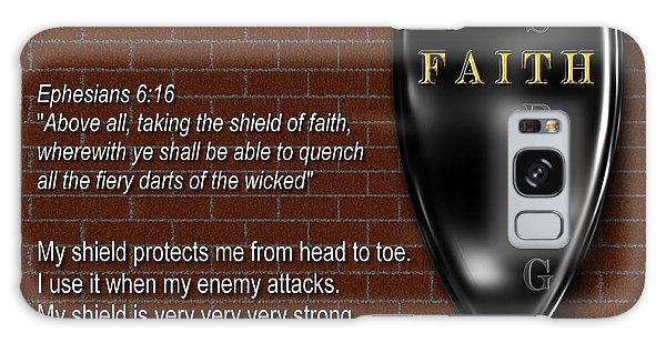 Shield Of Faith Galaxy Case