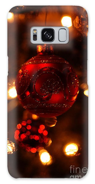 Shimmering Reflection Galaxy Case by Linda Shafer