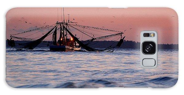 Shimp Boat Returning To Port Galaxy Case