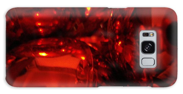 Shiney Red Ornaments One Galaxy Case