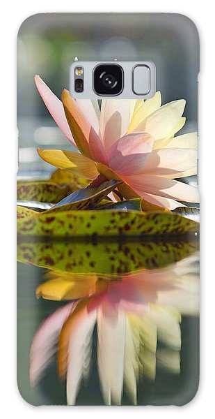 Shining Water Lily Galaxy Case