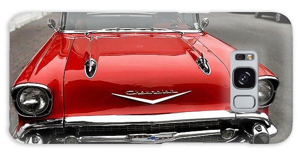 Shiny Red Chevrolet Galaxy Case by Nancy De Flon